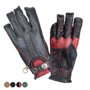 GUANTES SECOND SKIN MAN BLACK RED